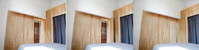 Coupet Enclosure contemporary-bedroom