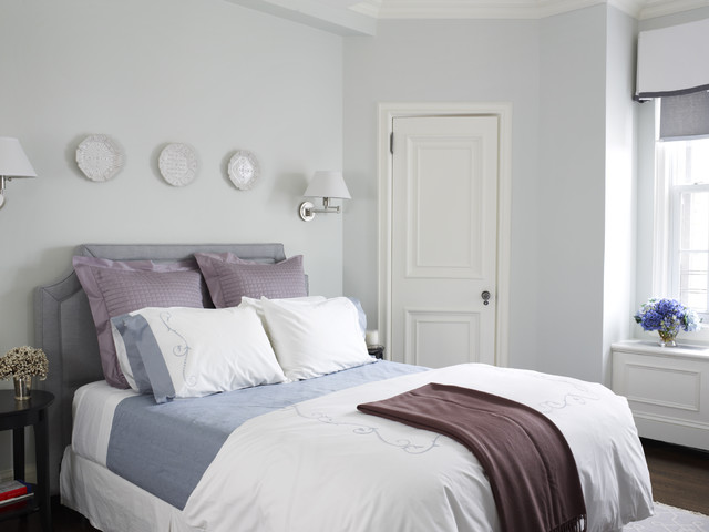 Cozy Guest Room Traditional Bedroom New York By