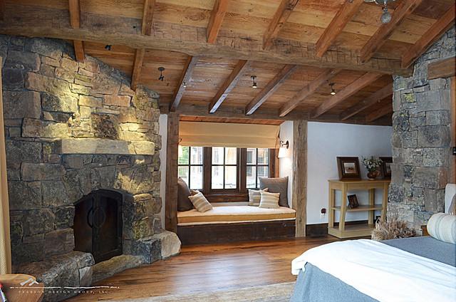 Cozy Master Bedroom Traditional Bedroom Denver By Highline Partners Ltd