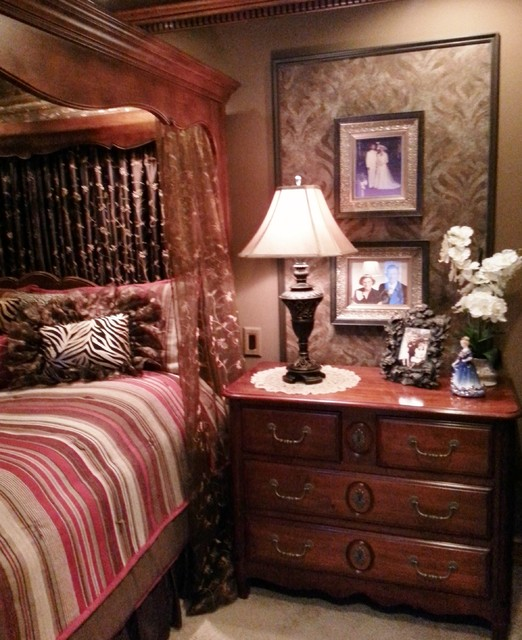 Cozy Master Bedroom Suite Traditional Bedroom Other Metro By