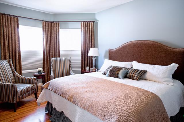 Cozy Master Suite Traditional Bedroom Other By Ellen Walker