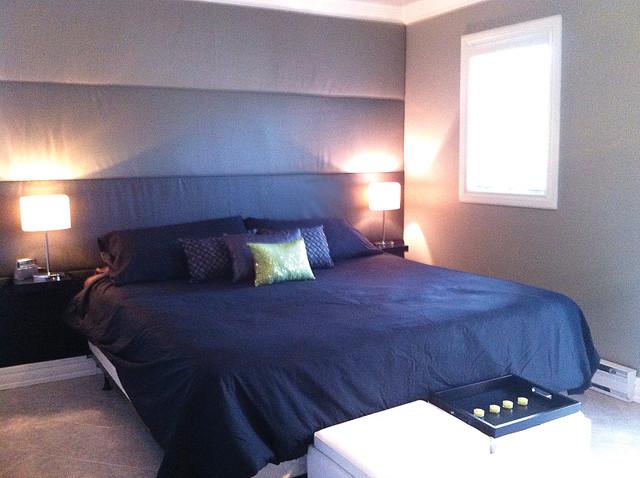 Cozy Retreat contemporary-bedroom