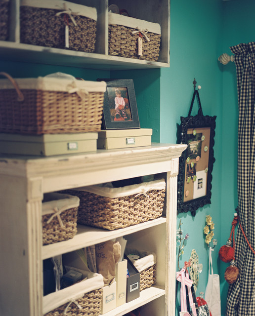 craft room eclectic bedroom oklahoma city by