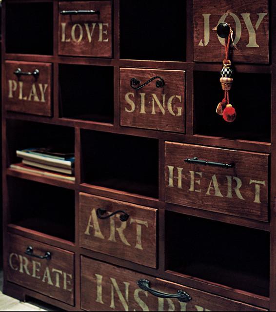 Craft Room eclectic-bedroom