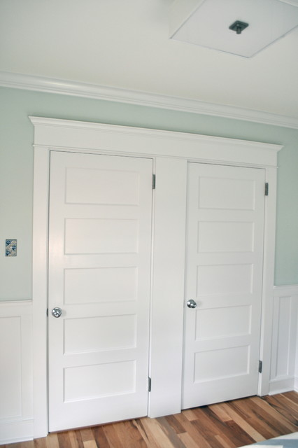 Double Doorway in Bedroom craftsman-bedroom
