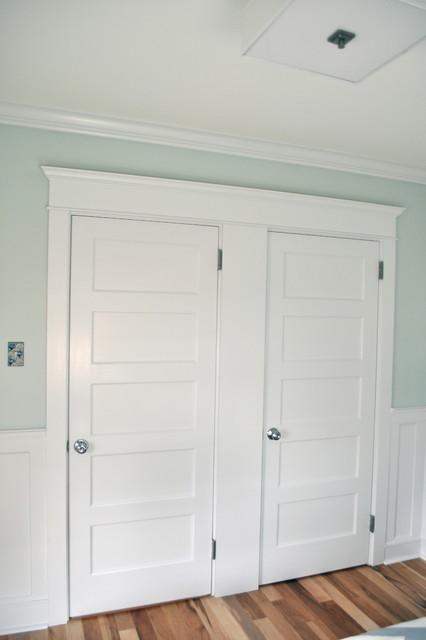 Double Doorway in Bedroom craftsman-bedroom