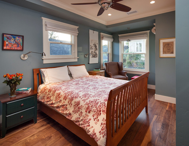 Craftsman Bungalow Remodel Bedroom