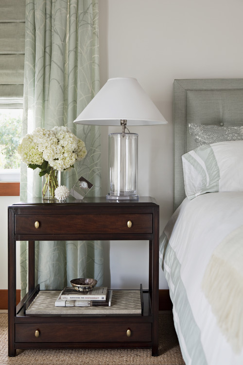 Transitional Bedroom by Los Angeles Interior Designers & Decorators Annette English