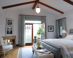 Craftsman Charm contemporary bedroom