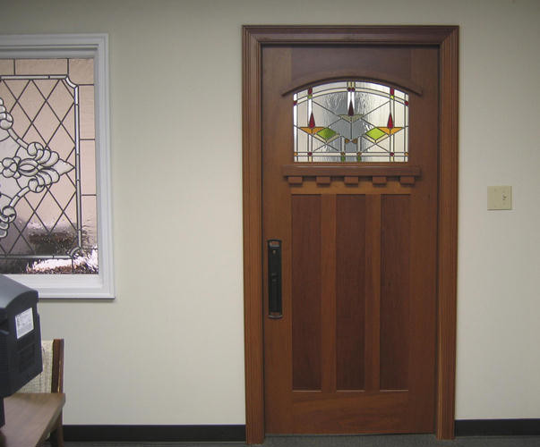 Craftsman Doors traditional-front-doors