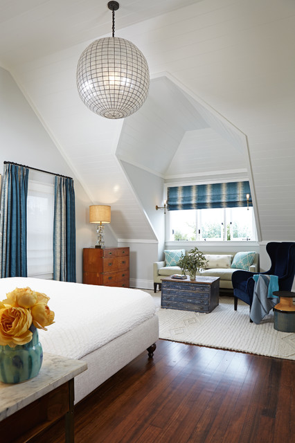 Luxe Family Home Santa Monica Transitional Bedroom