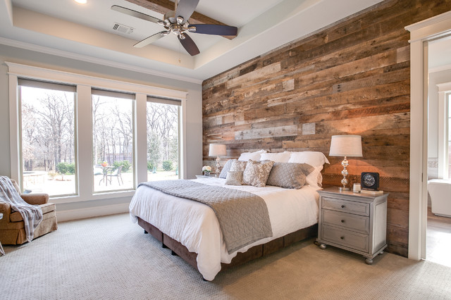 Craftsman Farm House Country Bedroom Dallas By
