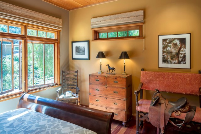 Craftsman home in larkspur california arts crafts for Arts and crafts bedroom
