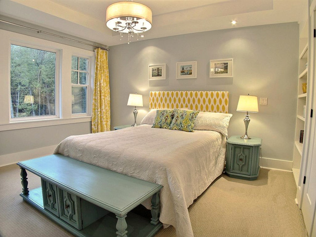 craftsman house interior traditional bedroom ottawa
