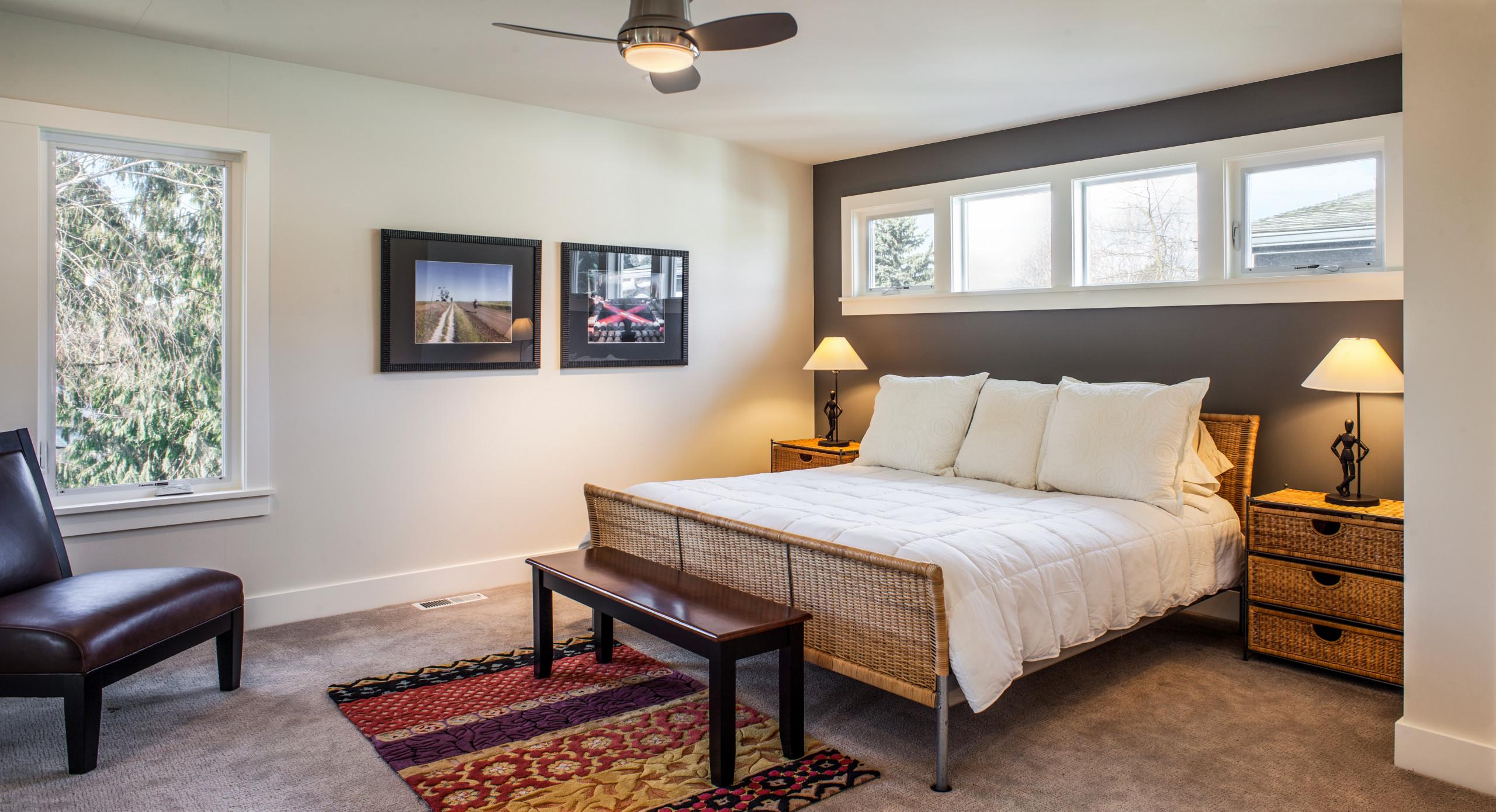 Craftsman / Modern Bedroom Update