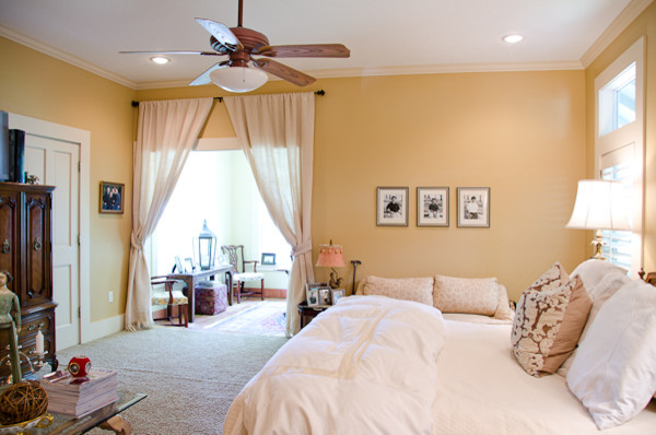 craftsman style bungalow redesign craftsman bedroom houston by