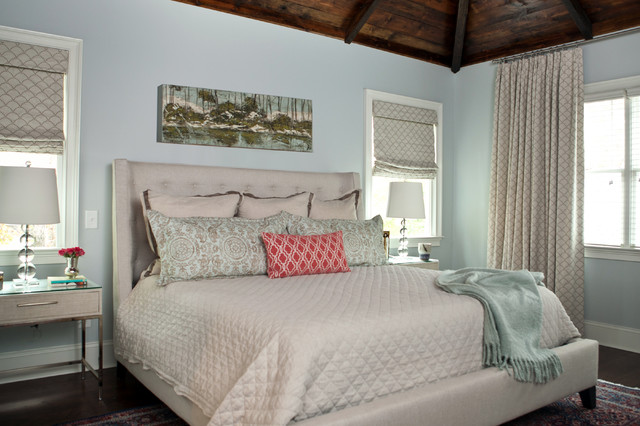 craftsman style family home master bedroom traditional bedroom