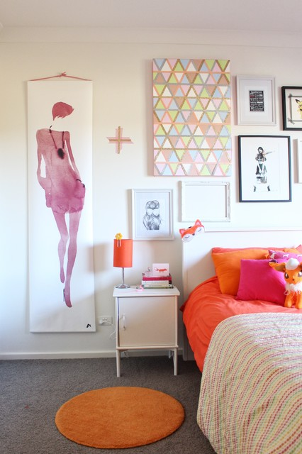 Creating my home eclectic-bedroom