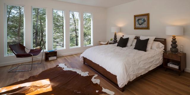 Creek House contemporary-bedroom