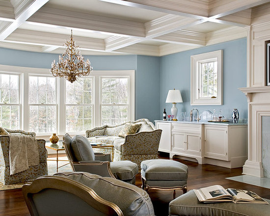 Coffered Ceiling Home Design Ideas Remodel and