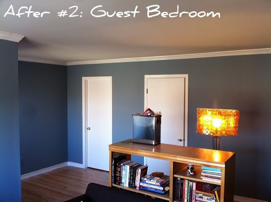 crown molding and painting in madison, nj   contemporary, Bedroom decor