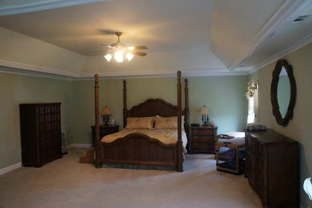 Crown molding williamstown nj traditional bedroom Design your bedroom from scratch