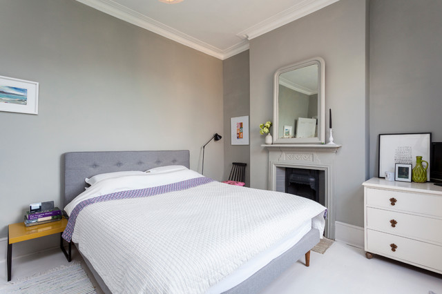 croxted road dulwich scandinavian bedroom london by chris snook. Black Bedroom Furniture Sets. Home Design Ideas
