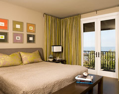 Crystal Cove contemporary bedroom