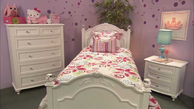 Crystal Youth Bedroom - Traditional - Bedroom - San Diego - by ...
