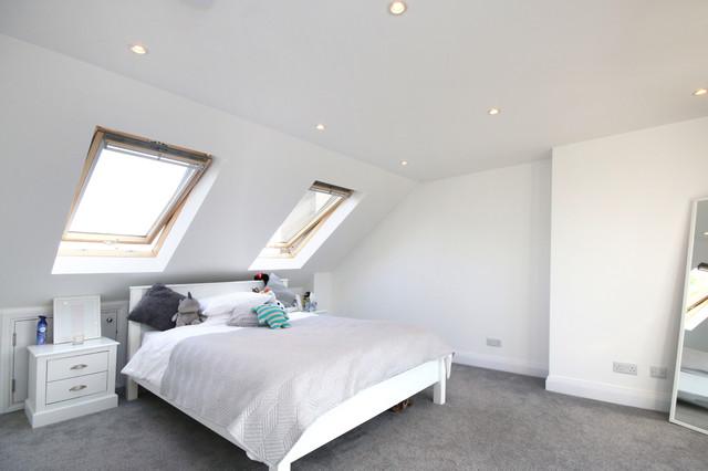 Cuckoo Dene Contemporary Bedroom London By SMA Lofts