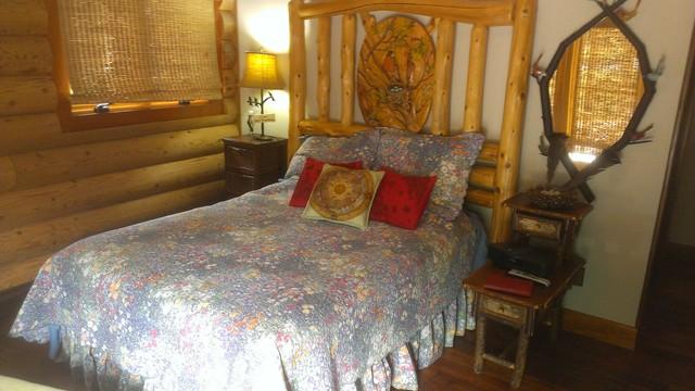 Cuddledown monet bedding rustic bedroom portland - Bedroom furniture portland maine ...