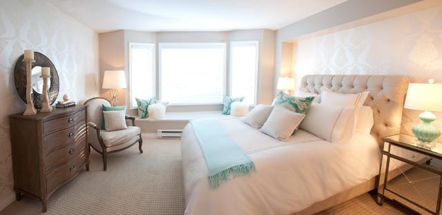 Cumberland Street - Design Project contemporary-bedroom