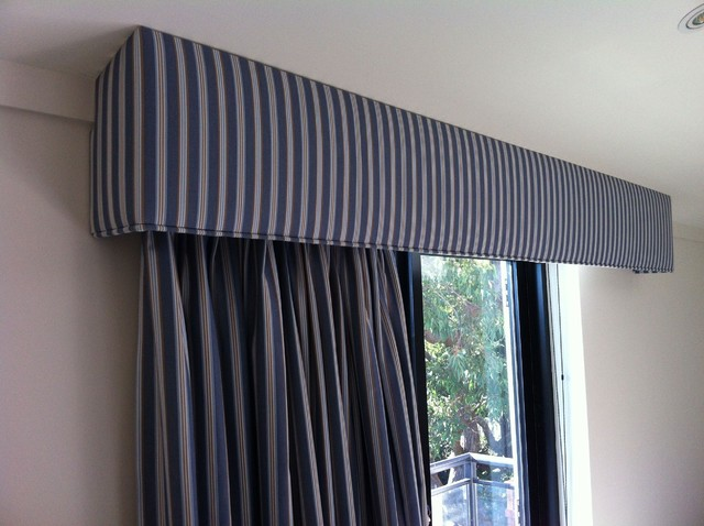 Curtain And Pelmet Set Modern Bedroom Sydney By