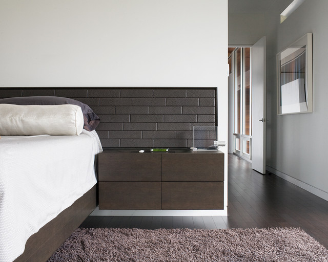 Curved House contemporary-bedroom