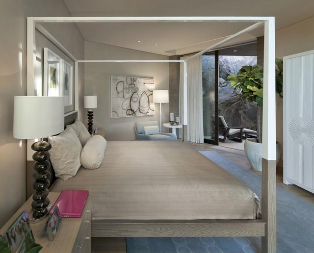 Custom Architecture contemporary-bedroom