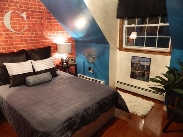 Photo Of A Contemporary Bedroom In Atlanta