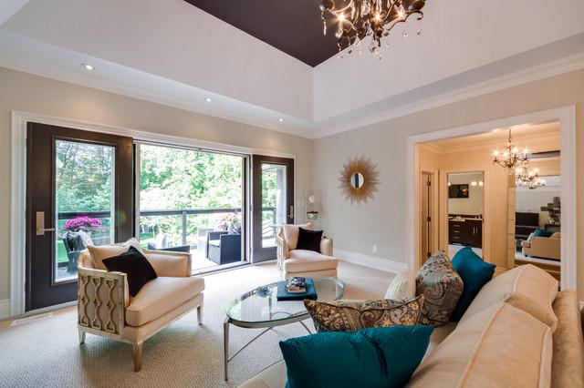 Custom Build Home contemporary-bedroom