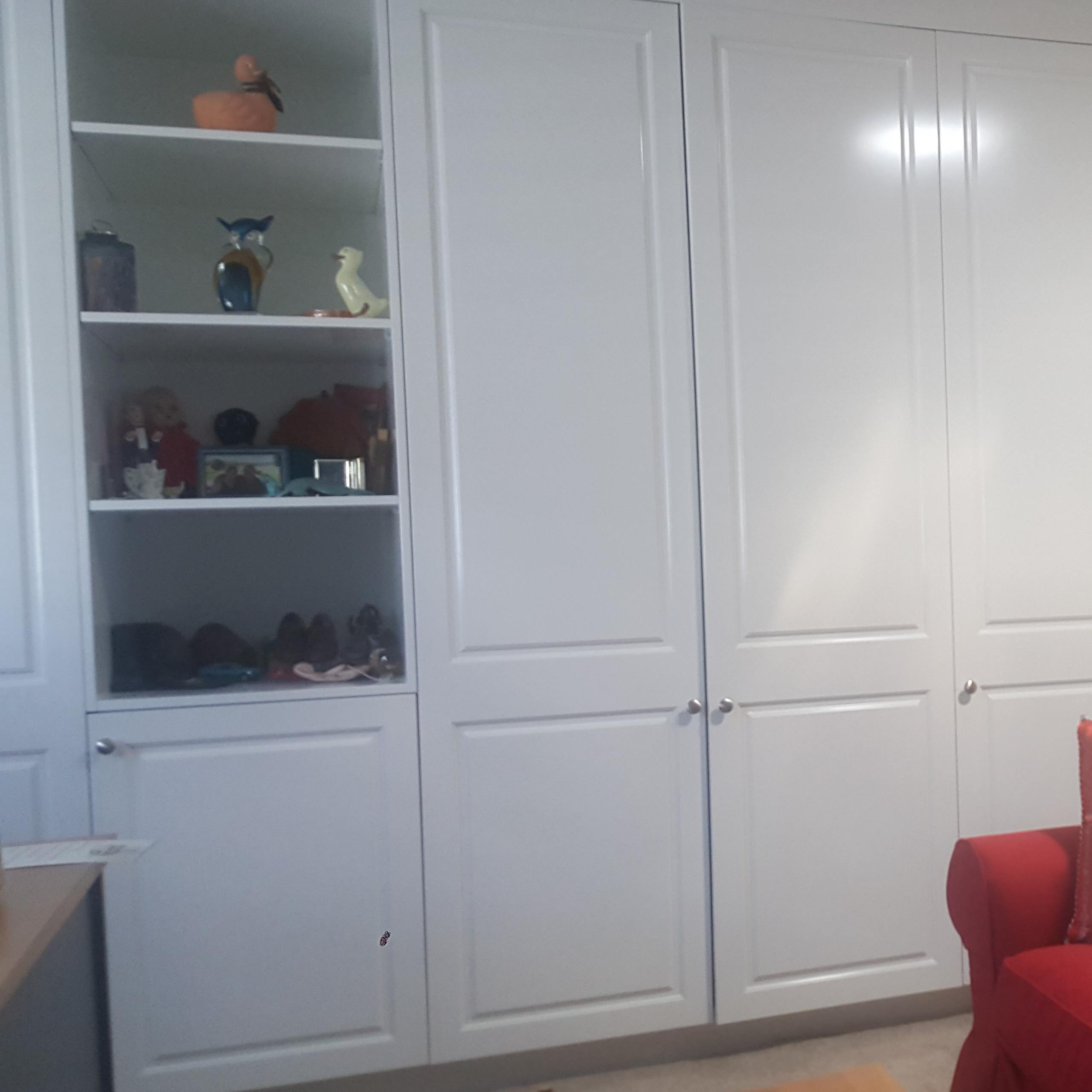 Custom built in wall units and media units