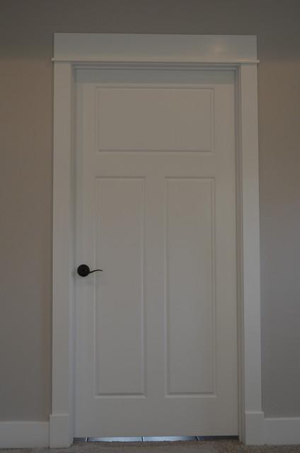 Custom Craftsman Style Door Trim Craftsman Bedroom