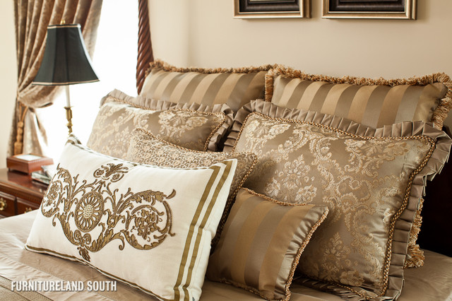 Custom-Designed Traditional Home traditional-bedroom
