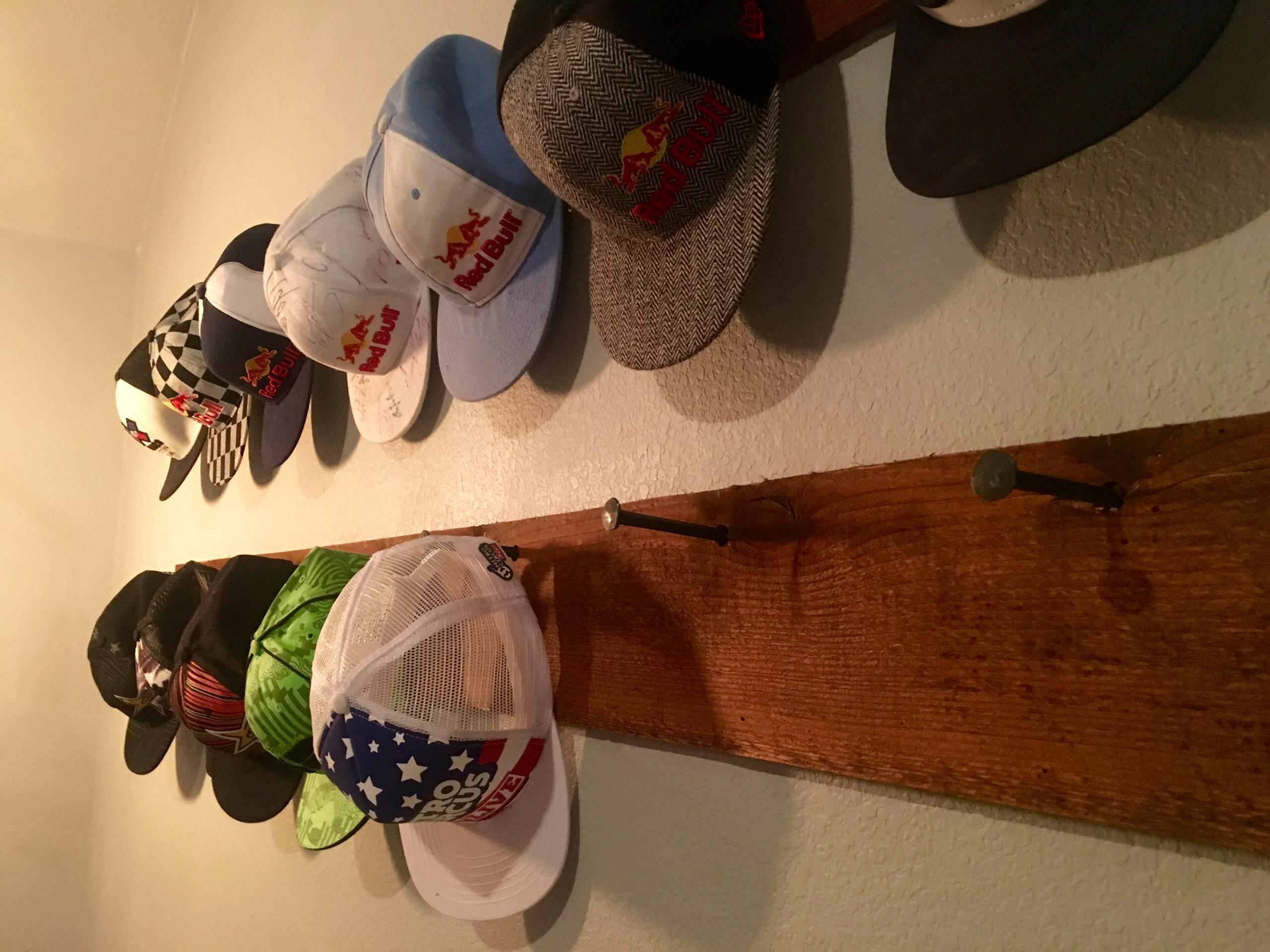 Custom hat rack
