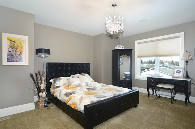 Custom Home #1 contemporary-bedroom
