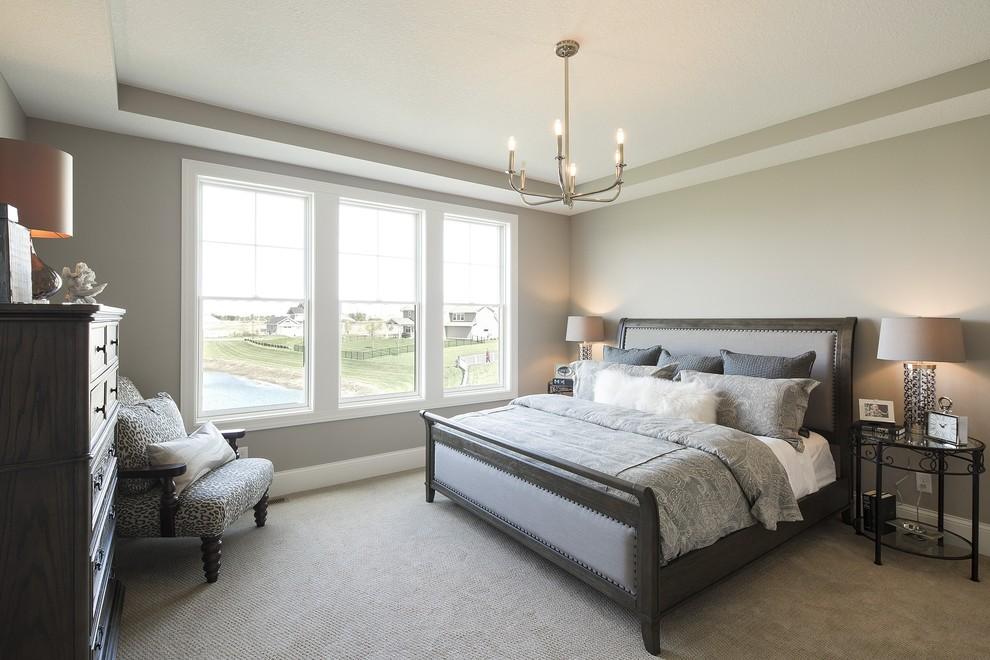 Custom Home - 2015 New Haven Model - Bedroom - Minneapolis ... on New Model Bedroom Design  id=49354