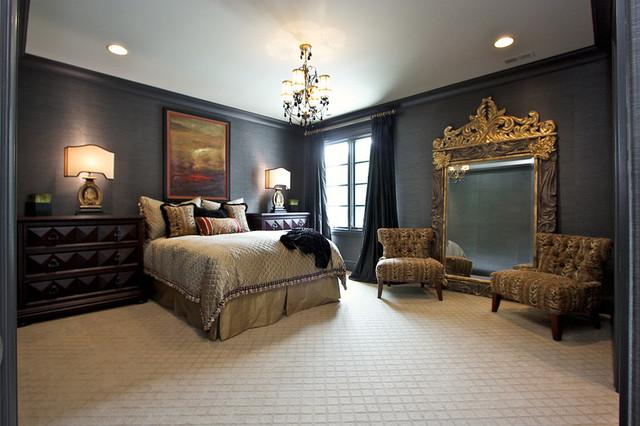 Custom Home:Franklin, Tn traditional-bedroom