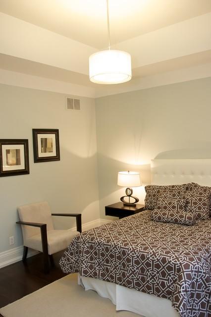 Custom Homes, York contemporary-bedroom