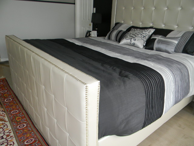 Custom Made King Size Bed Modern Bedroom