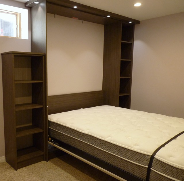 Custom metro murphy bed modern bedroom edmonton by Modern murphy bed