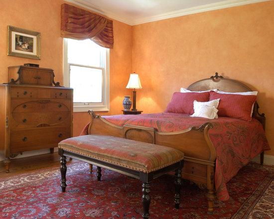 Luxury burnt orange walls home design ideas pictures for Burnt orange bedroom ideas