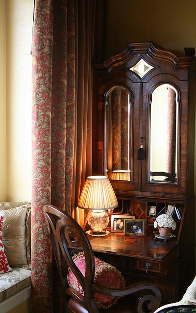 Custom Window Treatments mediterranean-bedroom