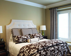 Dallas, Park Cities Project transitional-bedroom